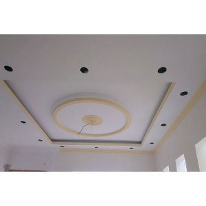 Ceiling plaster works